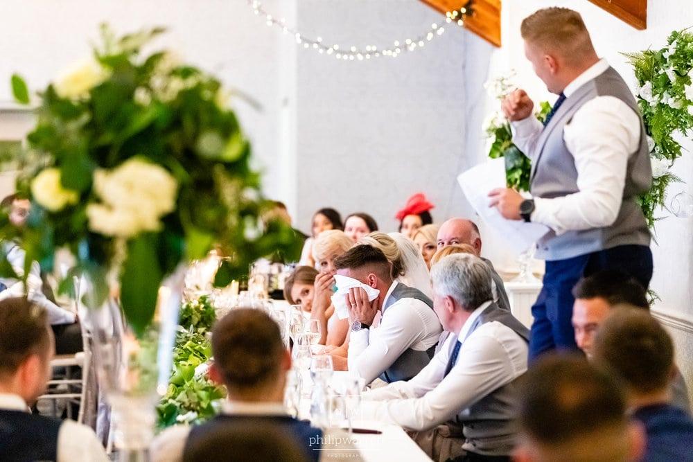 Coed Y Mwstwr Wedding Speeches