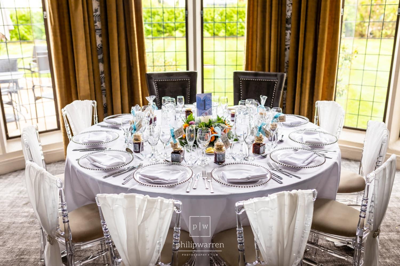 Top Table At Lanelay Hall Wedding